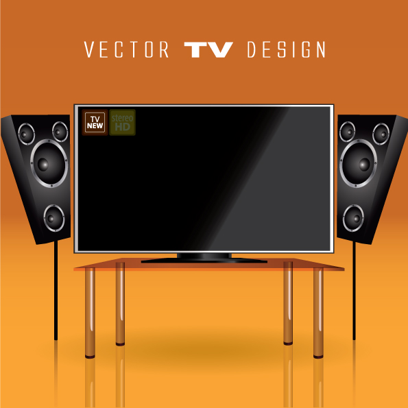 free vector Led tv 09 vector